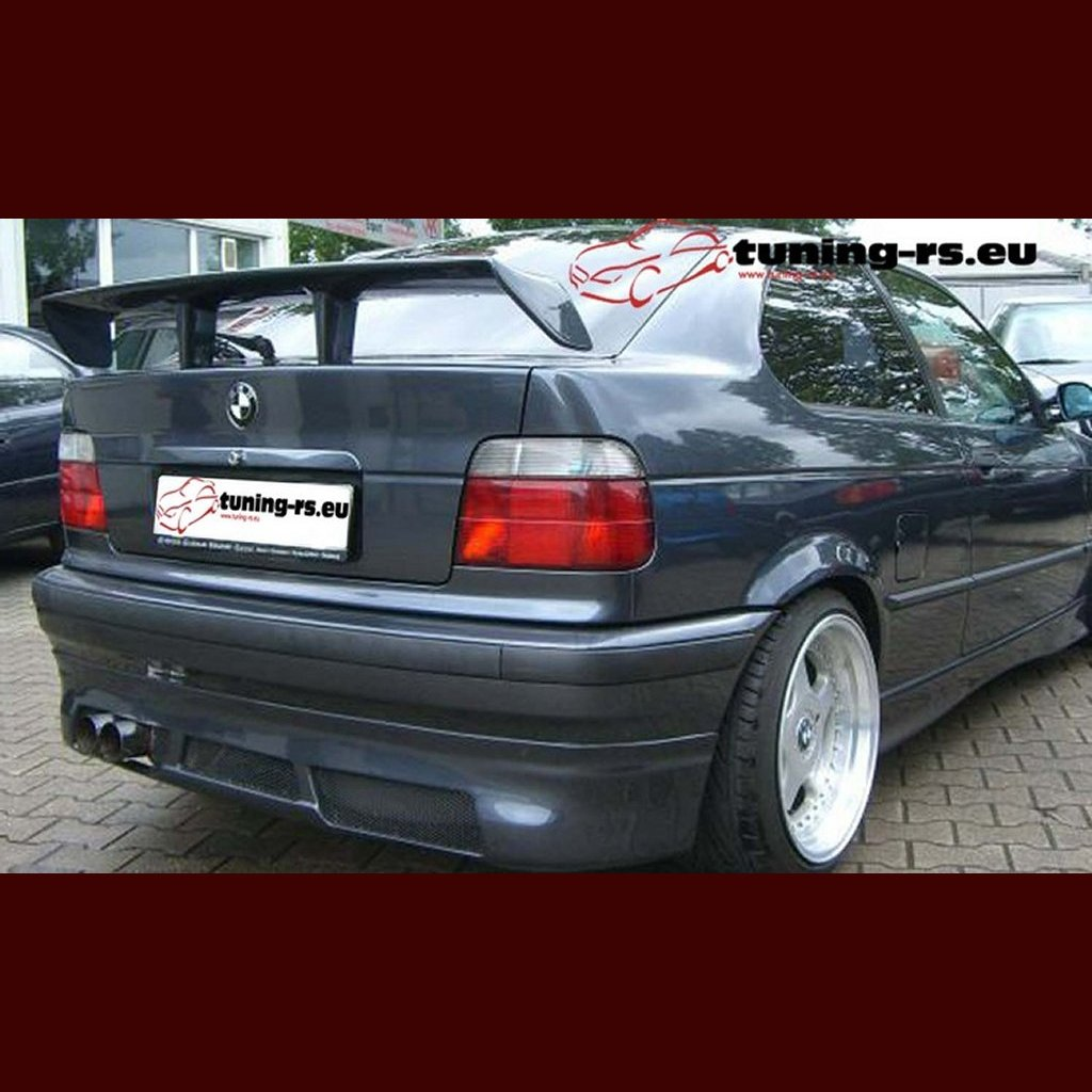 bmw e36 coupe compact rear boot spoiler tuning ebay. Black Bedroom Furniture Sets. Home Design Ideas