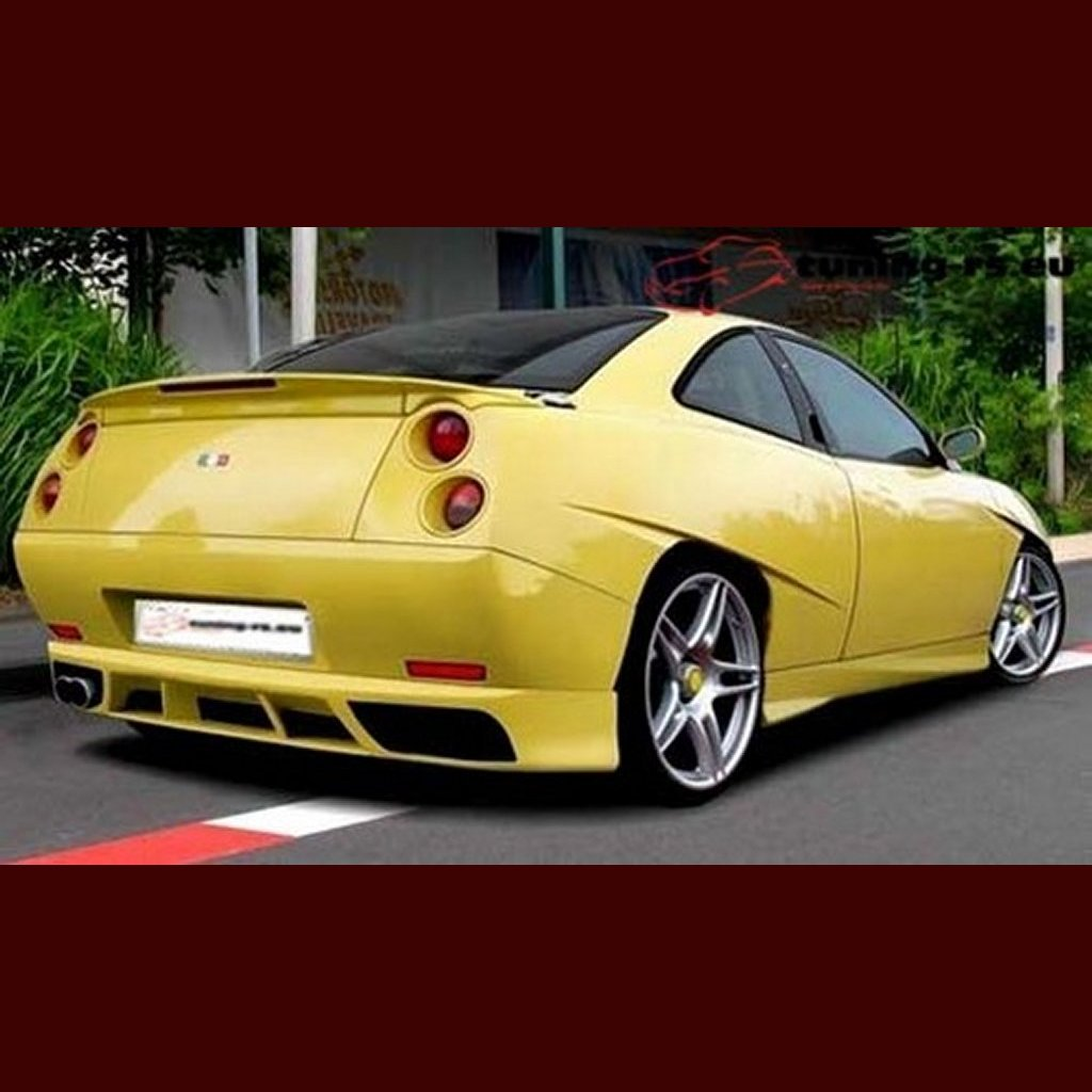 fiat coupe rear bumper spoiler tuning ebay. Black Bedroom Furniture Sets. Home Design Ideas