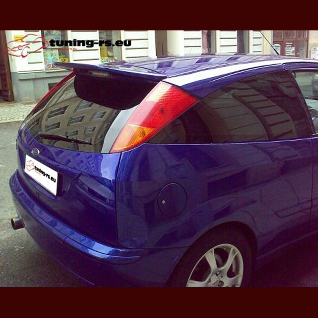 ford focus rear roof spoiler rs look tuning ebay. Black Bedroom Furniture Sets. Home Design Ideas