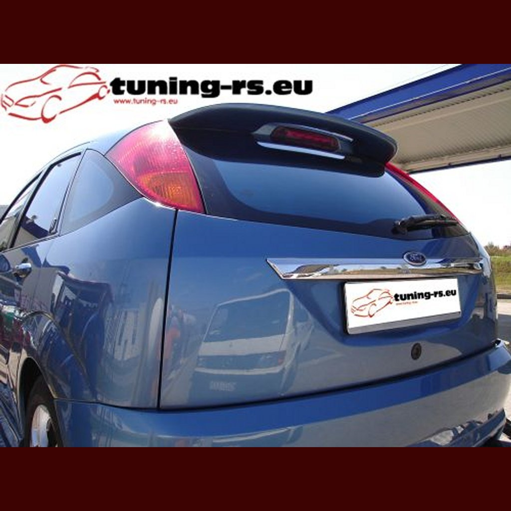 ford focus rear roof spoiler small tuning. Black Bedroom Furniture Sets. Home Design Ideas