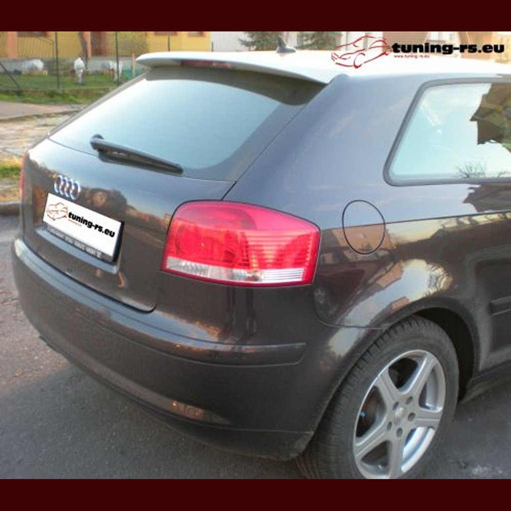 audi a3 8p becquet aileron s3 look tuning ebay. Black Bedroom Furniture Sets. Home Design Ideas