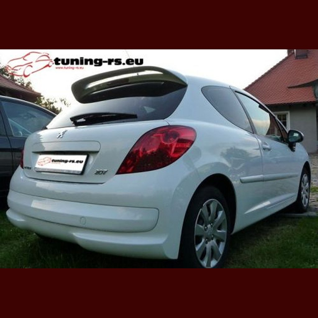 peugeot 207 becquet aileron new look tuning ebay. Black Bedroom Furniture Sets. Home Design Ideas
