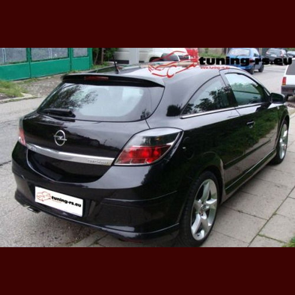 vauxhall astra h rear roof spoiler gtc tuning ebay. Black Bedroom Furniture Sets. Home Design Ideas