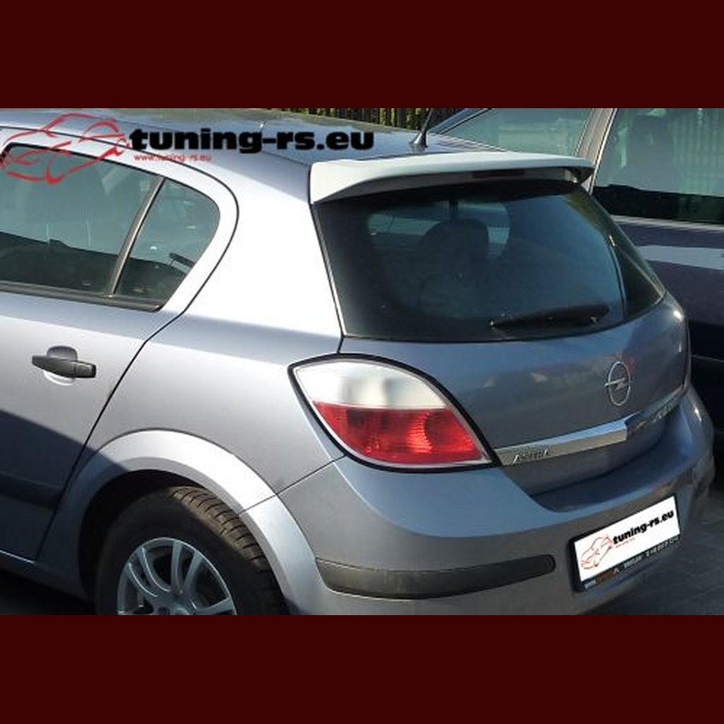 vauxhall astra h rear window spoiler gtc tuning ebay. Black Bedroom Furniture Sets. Home Design Ideas