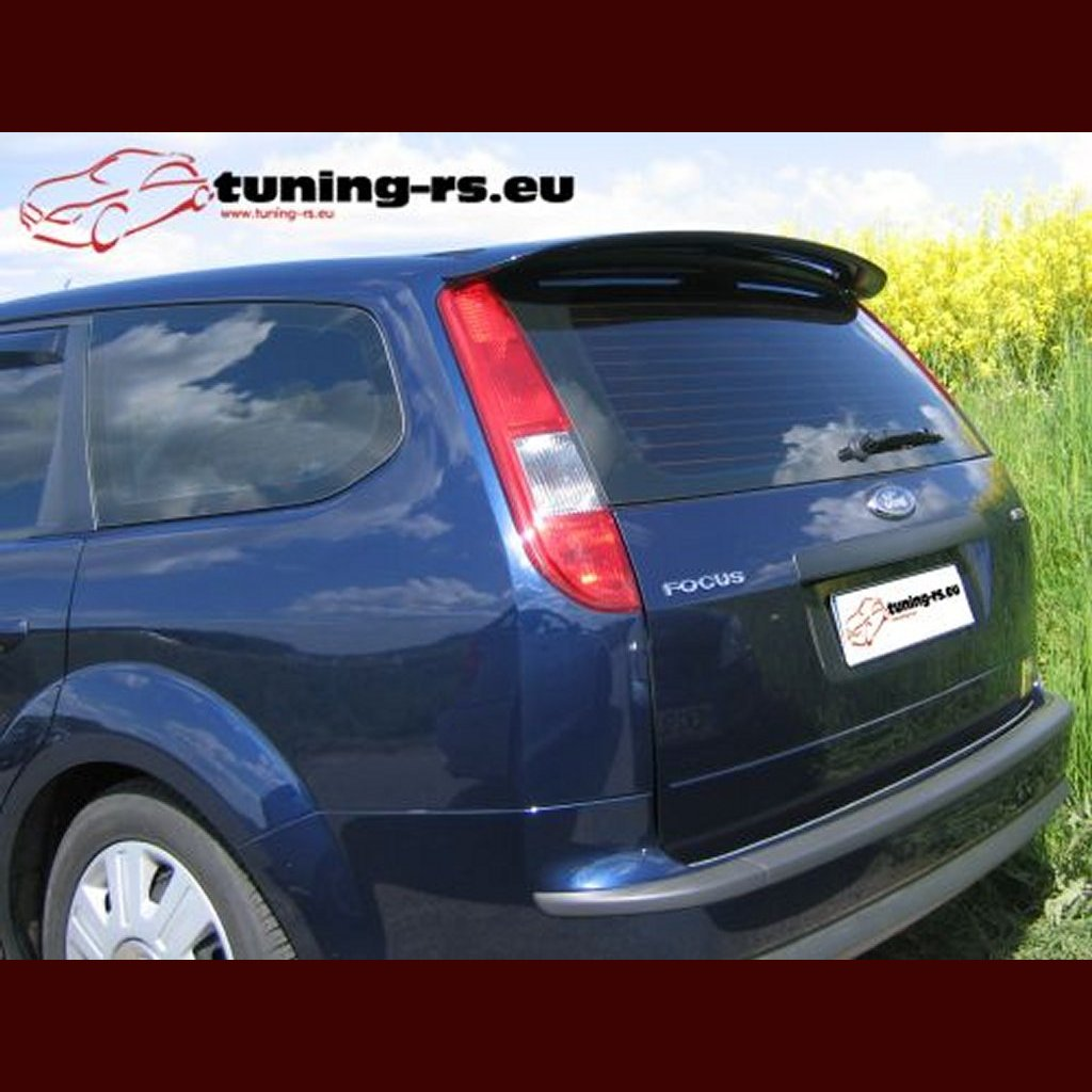 ford focus 2 kombi dachspoiler spoiler tuning ebay. Black Bedroom Furniture Sets. Home Design Ideas