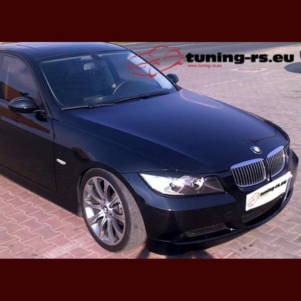 bmw e90 e91 eyebrows eyelids abs tuning ebay. Black Bedroom Furniture Sets. Home Design Ideas