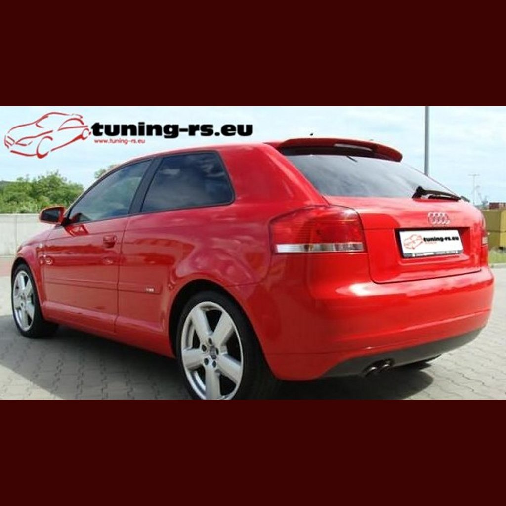 audi a3 s3 rear roof spoiler 8p tuning ebay. Black Bedroom Furniture Sets. Home Design Ideas