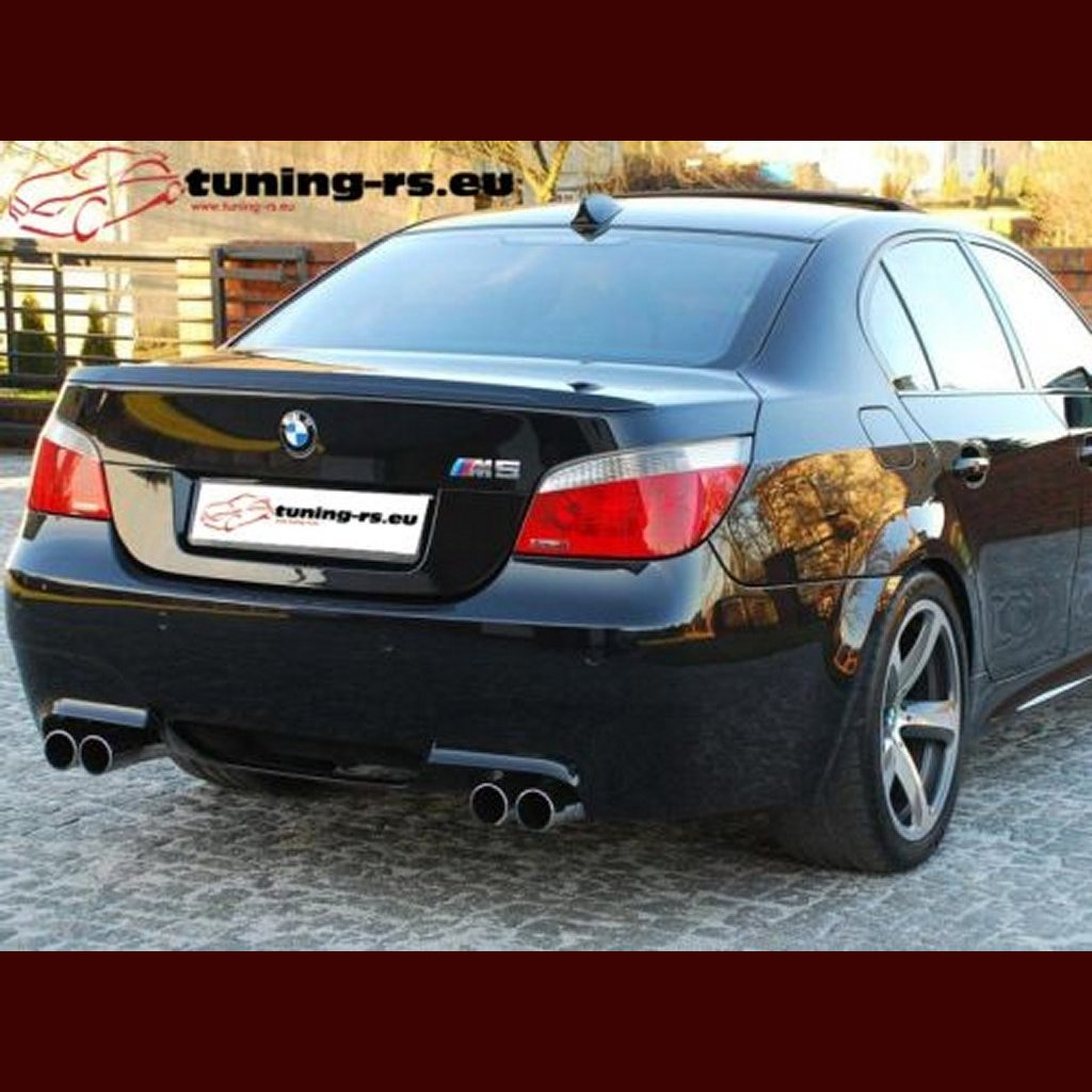 bmw e60 rear boot spoiler m5 tuning ebay. Black Bedroom Furniture Sets. Home Design Ideas