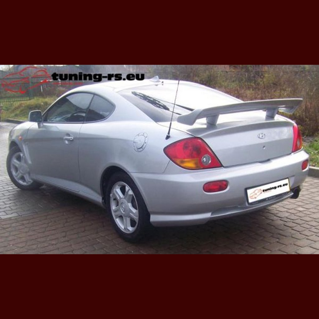 hyundai coupe rear boot spoiler twin tuning ebay. Black Bedroom Furniture Sets. Home Design Ideas