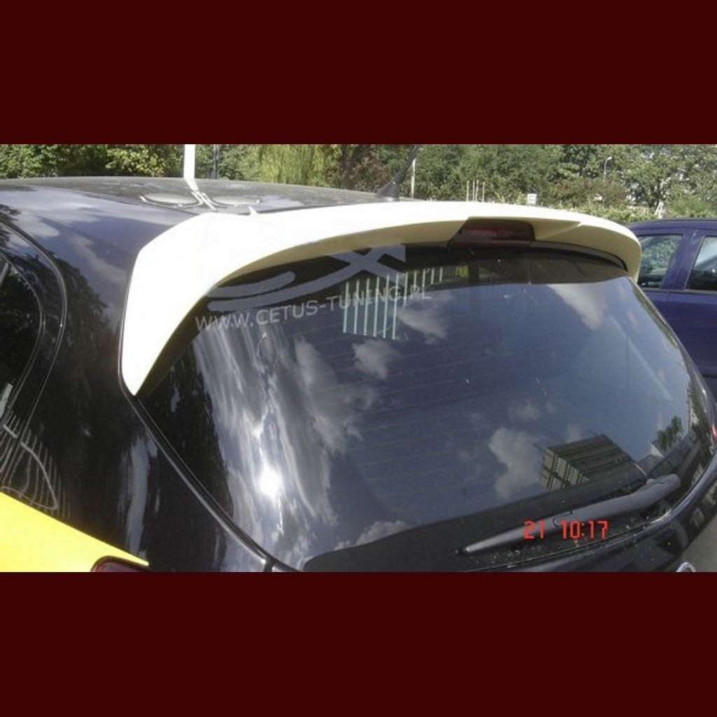 opel corsa d dachspoiler spoiler opc look tuning. Black Bedroom Furniture Sets. Home Design Ideas