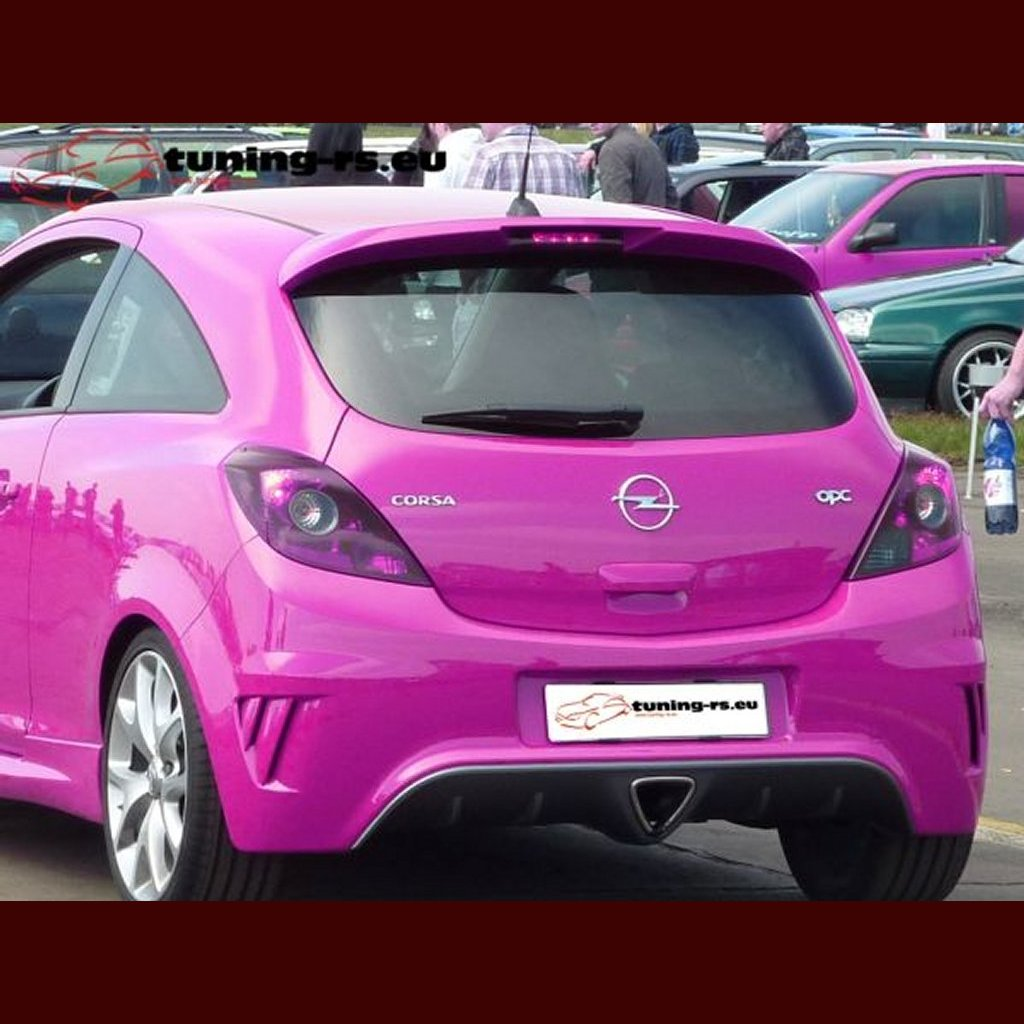 opel corsa d dachspoiler spoiler opc line tuning ebay. Black Bedroom Furniture Sets. Home Design Ideas