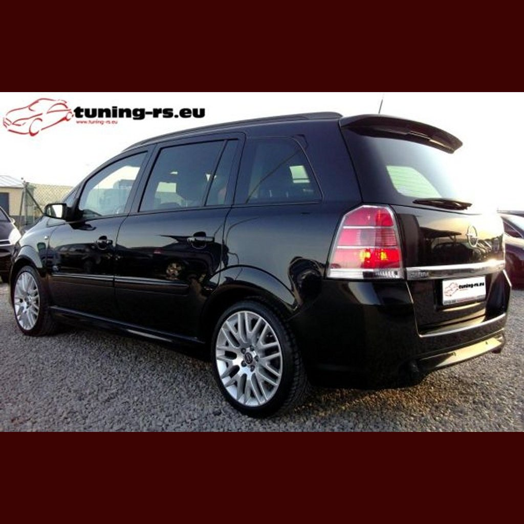 opel zafira b dachspoiler heckfl gel spoiler opc tuning rs. Black Bedroom Furniture Sets. Home Design Ideas