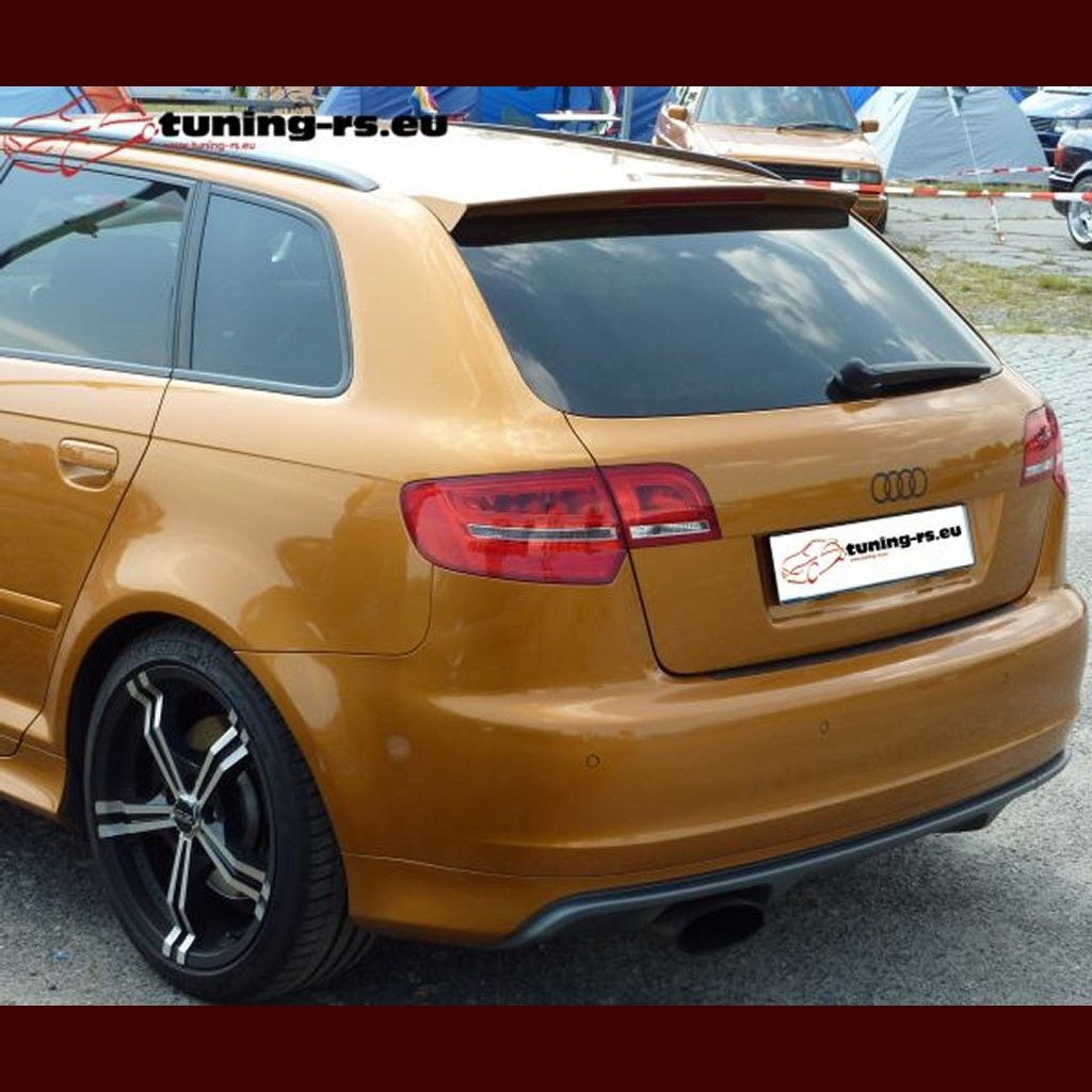 audi a3 8p sportback rear roof spoiler s look 5d tuning. Black Bedroom Furniture Sets. Home Design Ideas
