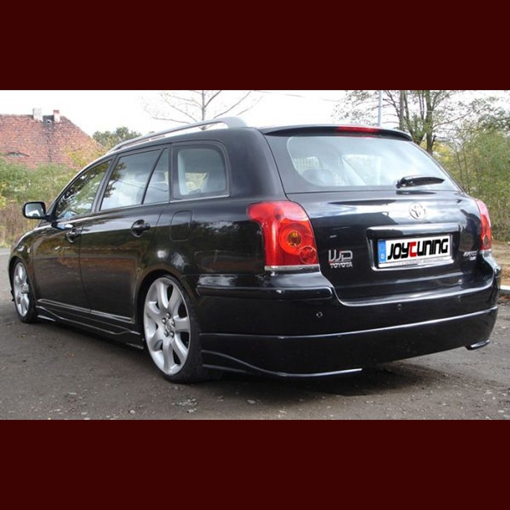 toyota avensis kombi ii t25 heckansatz hecklippe spoiler tuning ebay. Black Bedroom Furniture Sets. Home Design Ideas